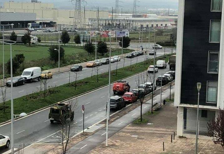 El Ejército Español se despliega en Gasteiz