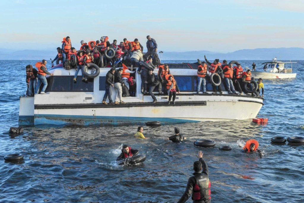 Escrito de SC Nátzab desde Lesbos, sobre lo que está ocurriendo con las personas en espera de asilo en las islas del Egeo.