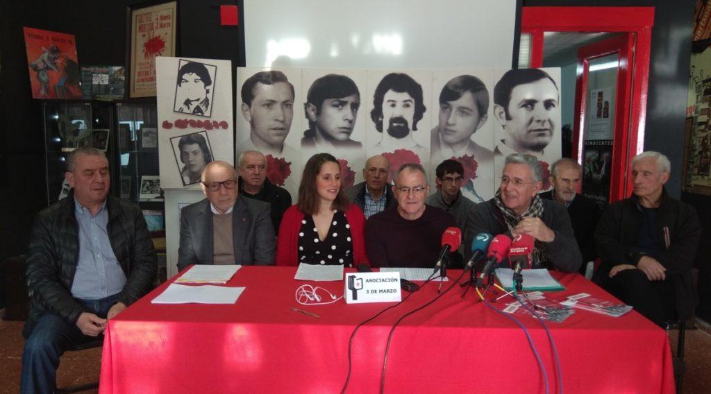 44 años de impunidad entorno a los asesinatos del 3 de marzo