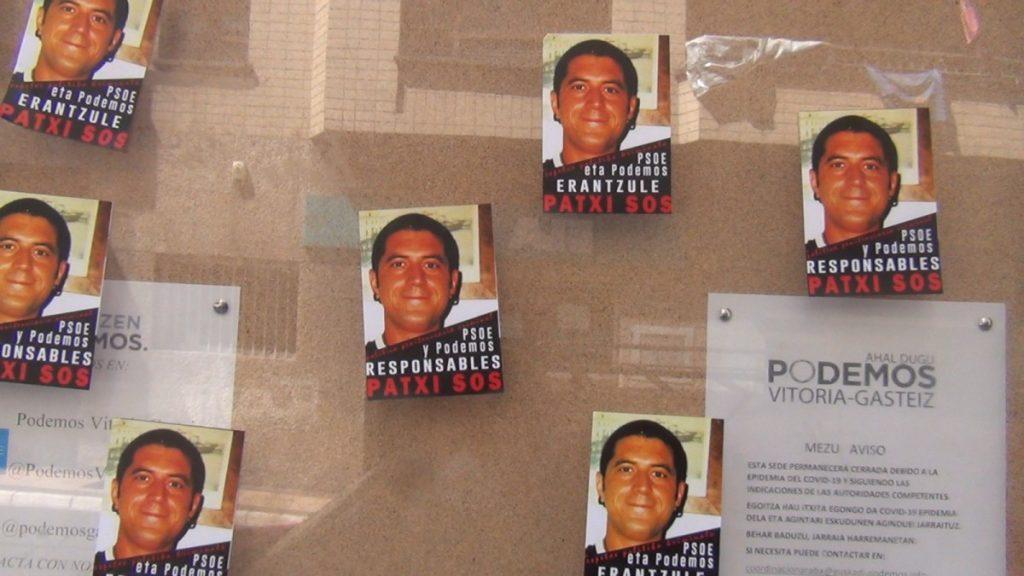 Herritar talde batek Patxi Ruizen aldarrikapenak luzatu dizkie Espainiako Gobernuan dauden talde politikoei