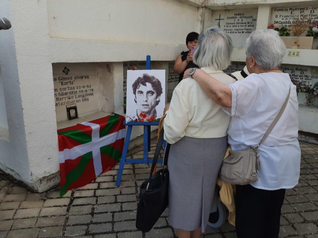 """41 urte igaro dira Enrique Gomez """"Korta"""" ETA-ko militantea Baionan erail zutela"""