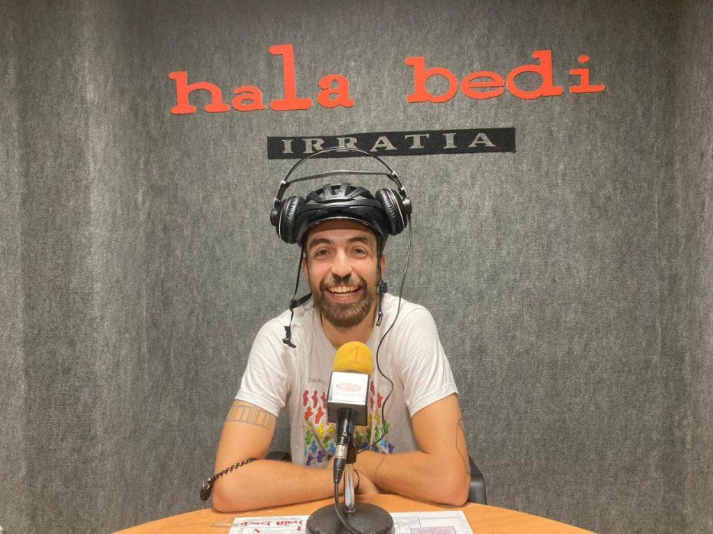 Juan (EramanKoop): «Ez dago jasangarritasuna aldarrikatzerik ez bada bizikletaz egiten»