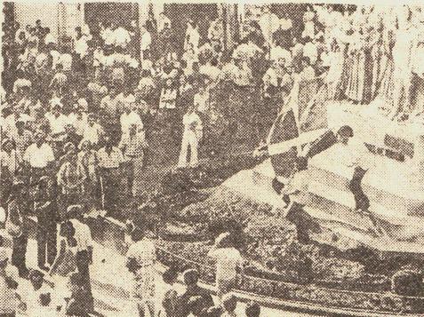 1976, las fiestas de Gasteiz marcadas por el 3 de marzo y la amnistía