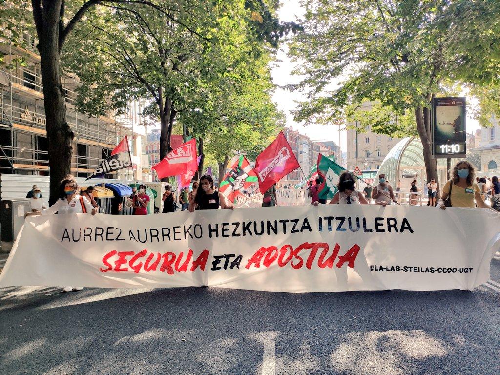 Ana Perez (Steilas): «Ezohiko egoeran ezohiko baliabideak jarri behar dira»