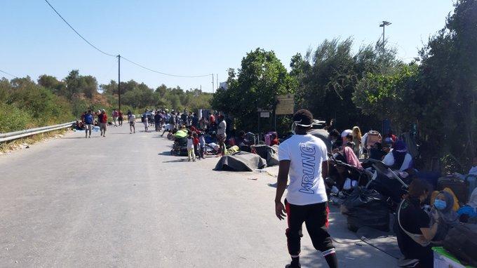 Grecia | «Las victimas de Moria no dejan de ser un eslabón más de la política migratoria homicida de la Europa-Fortaleza»