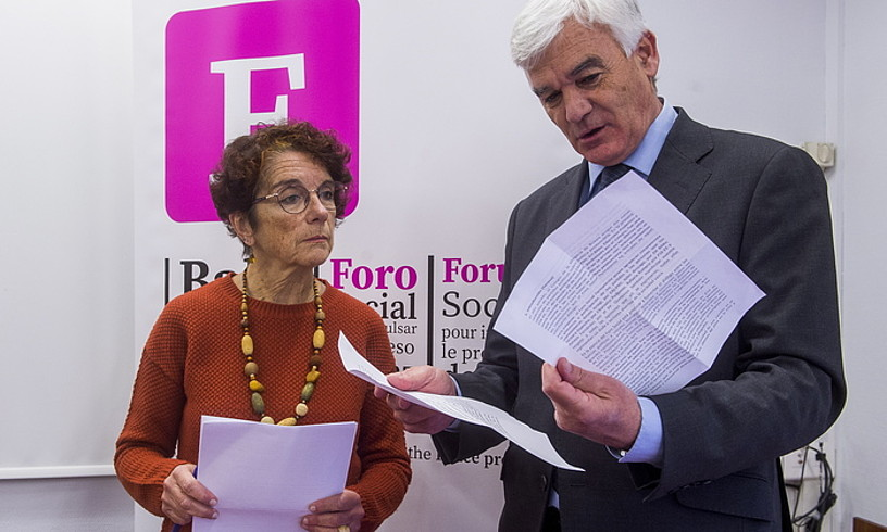 Teresa Toda (Foro Soziala): «Espainiaren izaera politikoa oraindik ez da erabat demokratizatu, aparato judiziala, politikoa, poliziala…, estatu sakonaren erroak oso sakonak dira»