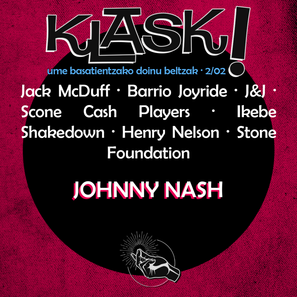 2/02 │ Nobedade Kutxa eta Johnny Nash, the soul singer