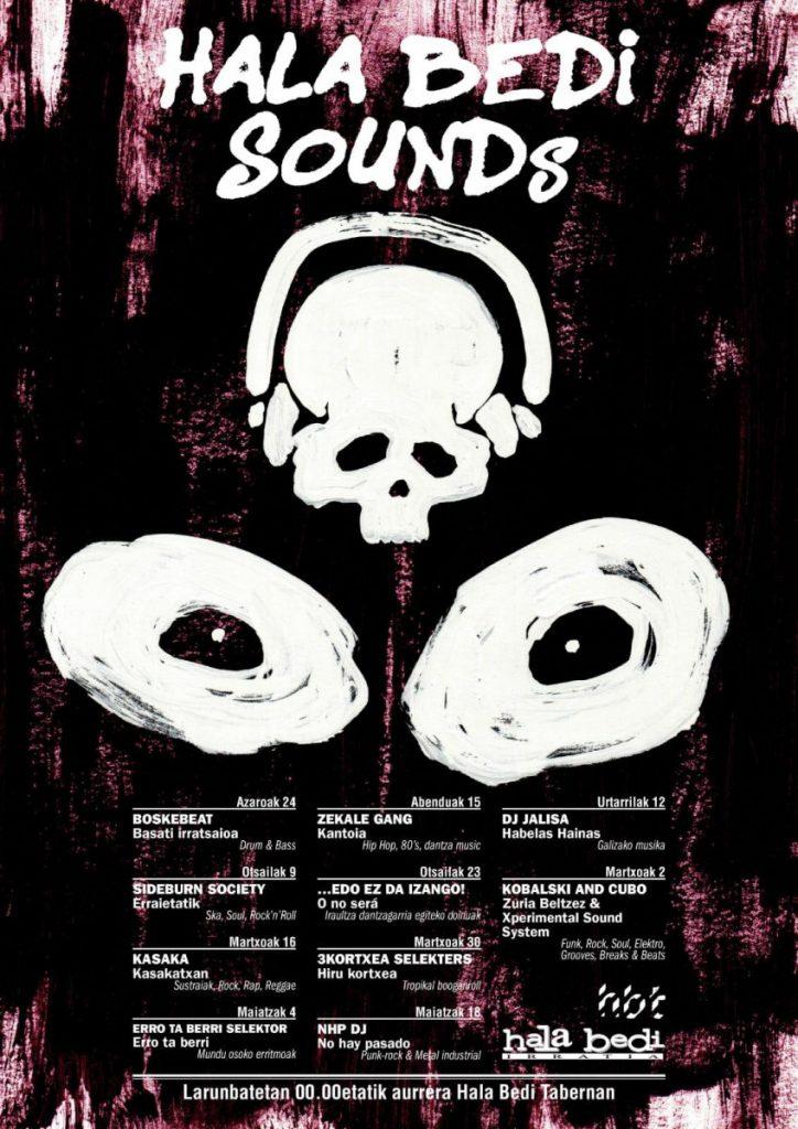 Hala Bedi Sounds 2018/19 – Boskebeat d&b 2018-11-24