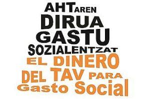 """Iñigo Leza (Orain Ardura): """"AHTaren dirua gastu sozialetarako erabili behar da"""""""