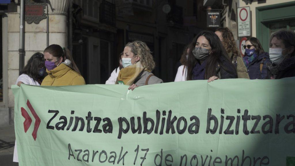 """""""Zaintza-sistema publiko baten alde"""" greba deitu du ELA sindikatuak"""