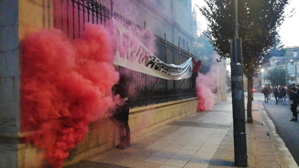 ARGAZKIAK   Gazteen aurkako kriminalizazioa salatu dute asteburuan Araban
