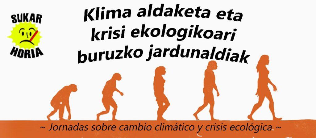 Jornadas sobre la crisis climática