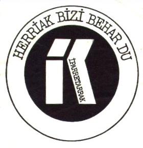 Hizki larriz idatzitako kaleko HISTORIA 4 / Iparretarrak