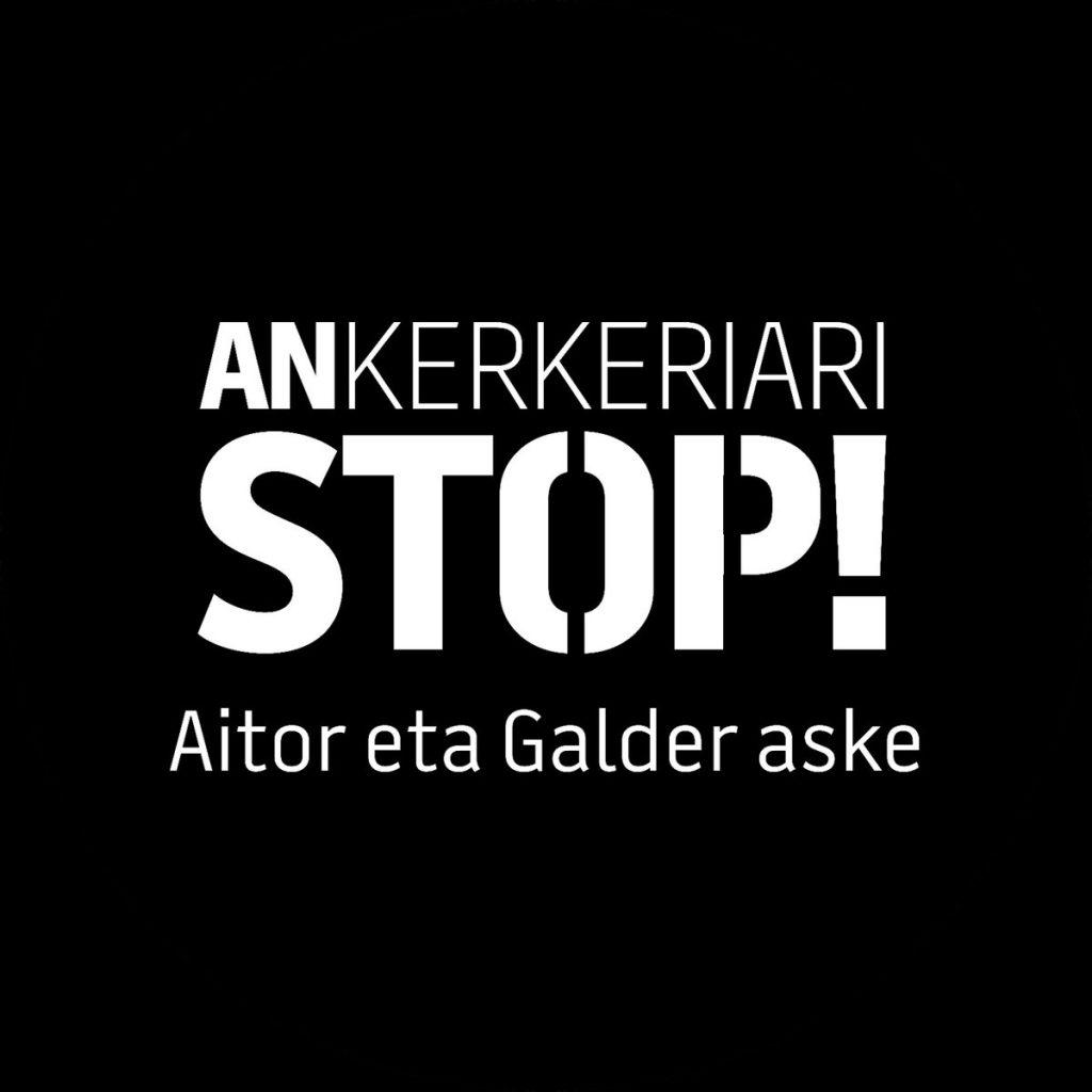 Aimar Gutierrez (ANKerkeriari STOP plataforma): «Printzipio demokratiko guztien aurka dagoen prozesua da»