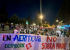 La plantilla de Aernnova comienza un encierro en la iglesia de Los Ángeles para denunciar los despidos