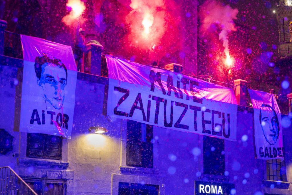 """Ioritz Iglesias (ANkerkeriari STOP!): """"Estatu barruan dagoen faxismo horri noizean behin gustatzen zaio era gordin batean adieraztea"""""""