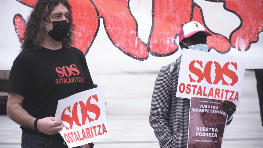 HALA BIDEO | SOS Ostalaritza denuncia las desproporcionadas actuaciones de los diferentes cuerpos policiales