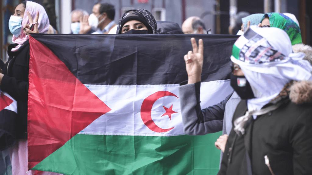 HALA BIDEO | Manifestación en contra de la represión que sufre el pueblo saharaui a manos del estado marroqui