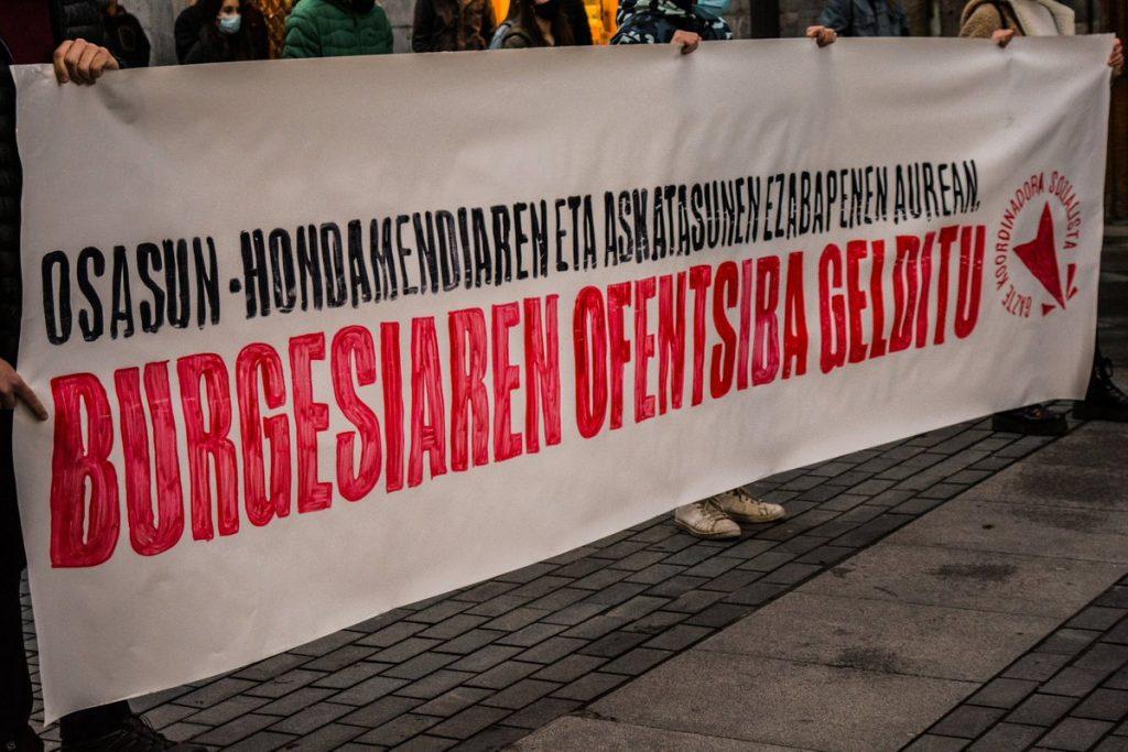 Peio Ormazabal (GKS): «Pobrezia eta askatasun eza areagotzen ari dira»