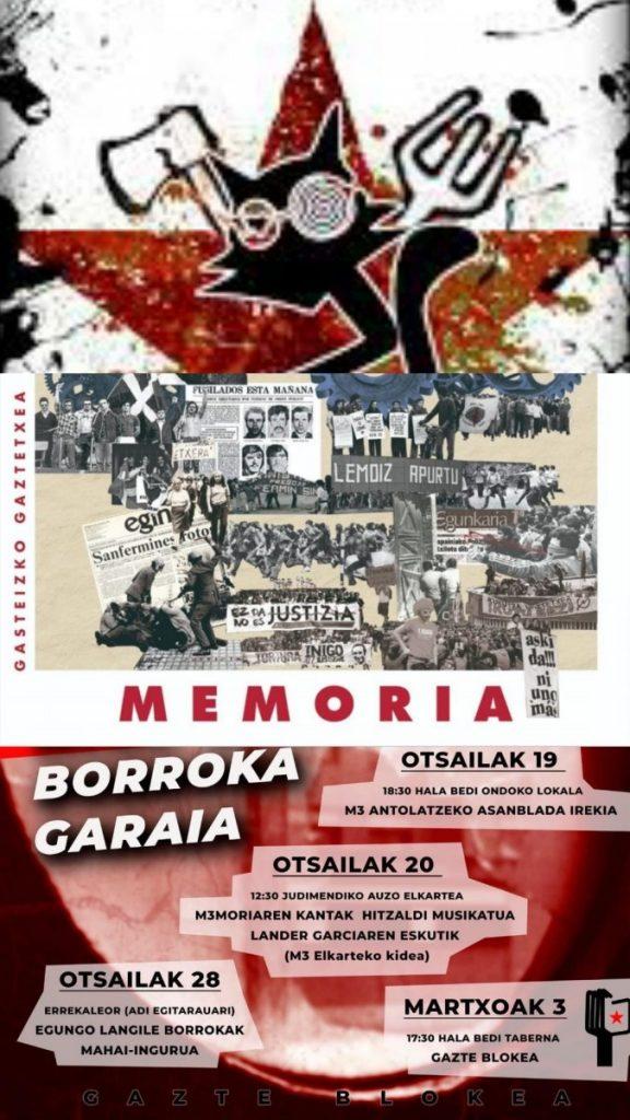 18| Dj Jokin, Kutxiko katuak eta Memoria historikoa eta etorkizuneko borrokak Gaztetxea eta Gazte blokearen eskutik