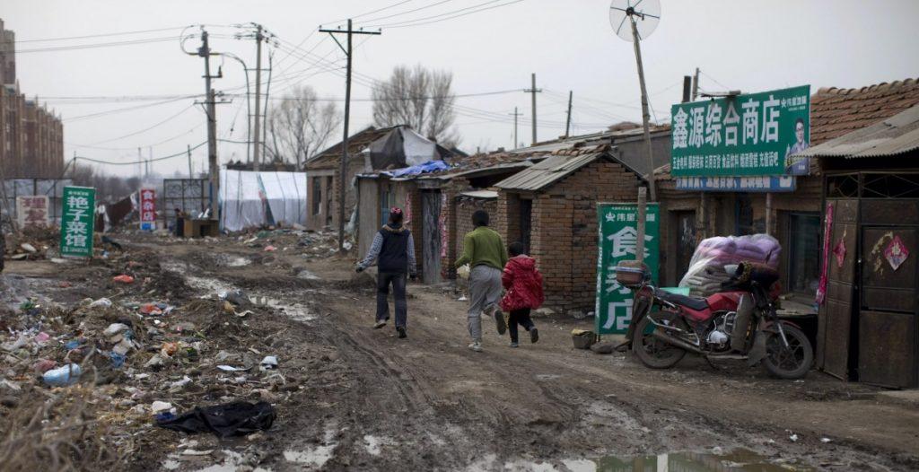 Txinaren garaipena pobrezia absolutuaren kontra