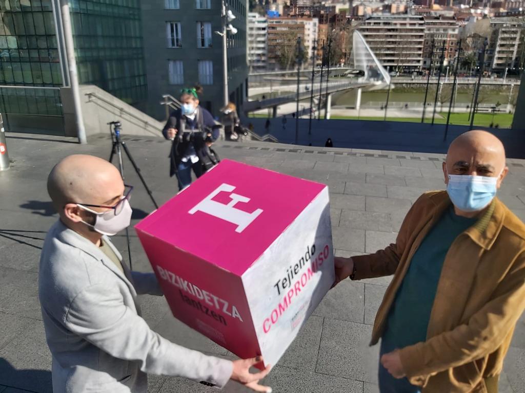 "Eneko Calle (Foro Soziala): ""Decidimos consolidar la paz en Euskal Herria de abajo arriba"""