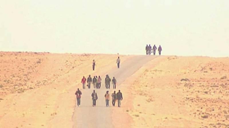 Afrikako migrazioak, Europar Batasunaren mugak eta basamortuko odisea