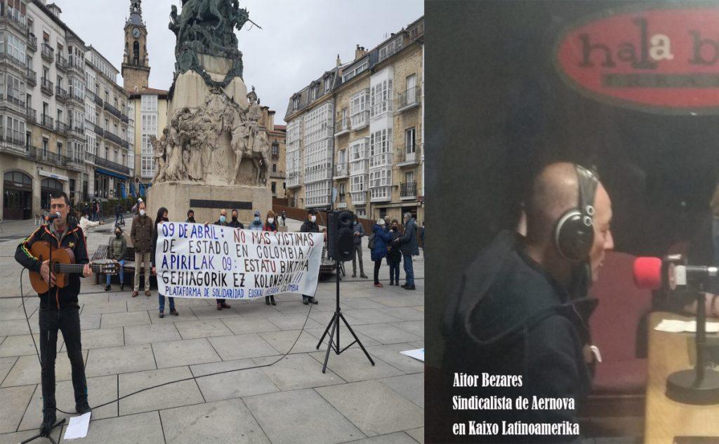 KLA-HLA del 10-Abril-2021, Elecciones Ecuador, Perú y Bolivia, Yuri Bolivia, Aitor Bezares Aernova, Día Victimas, TIC pandemia y derechos.