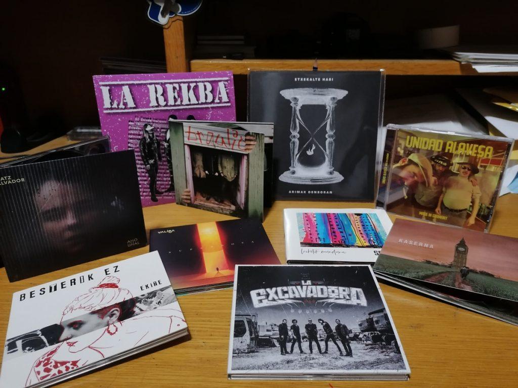 Ekiñe, Vibora, ARRI!, La Rekba, Unidad Alavesa, The Bronx, Ian Kai…