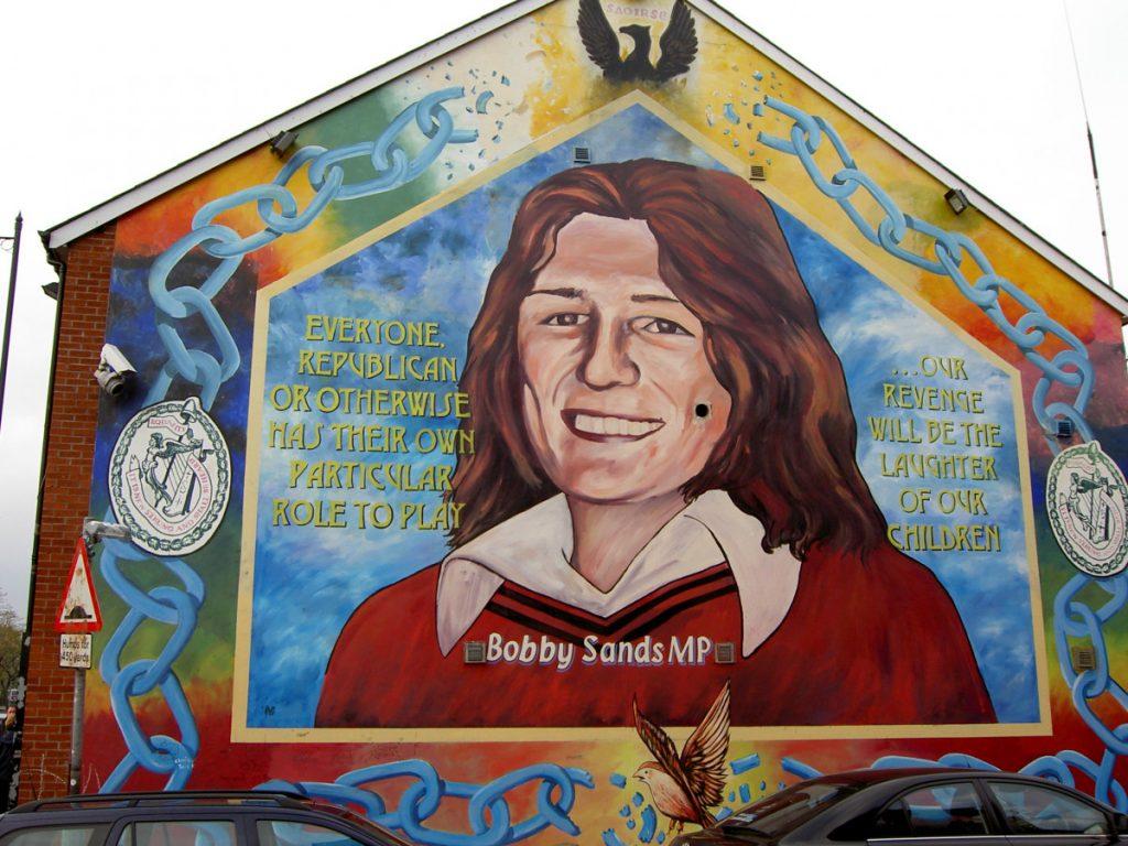 Hizki larriz idatzitako Historia: Bobby Sands