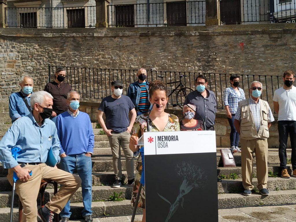 Memoria Osoa se manifestará ante la apertura del Memorial de Víctimas