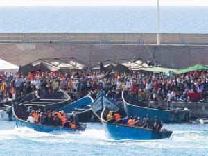 Internacional | Situación de las personas migrantes en las Islas Canarias