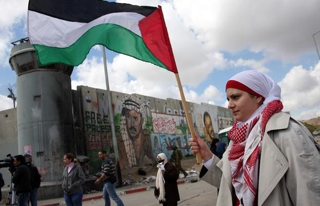 Hizki larriz idatzitako Historia atalean: Palestina