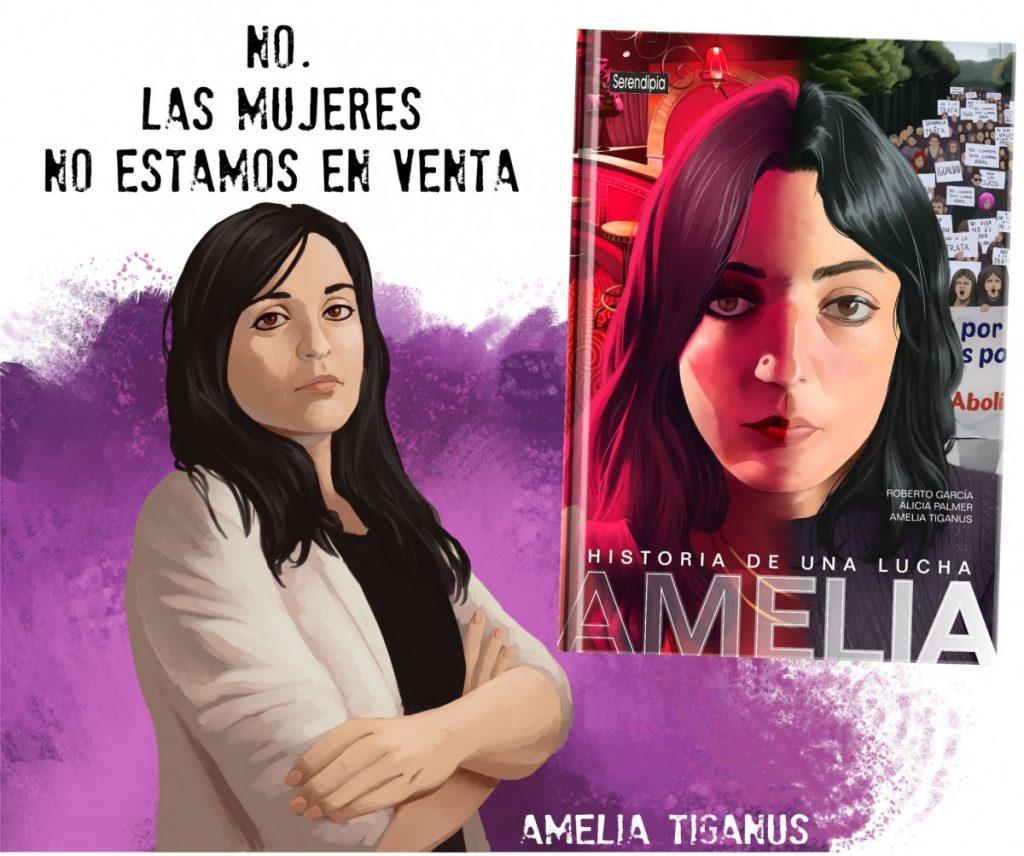 """La activista feminista Amelia Tiganus presentará en Gasteiz el cómic """"Historia de una lucha"""""""