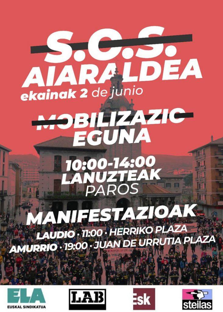 "Aimar Gutierrez (aiaraldea.eus): ""Es un problema estructural de la comarca que nos afecta a todas"""