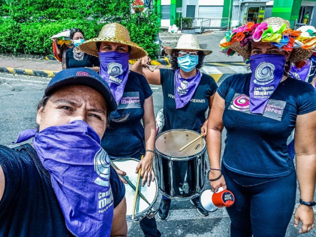 Mujeres* en resistencia en Colombia