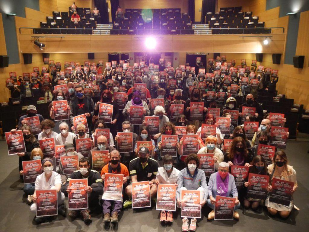 SOS Aiaraldea lelopean, eskualdea mobilizatu egingo da bihar