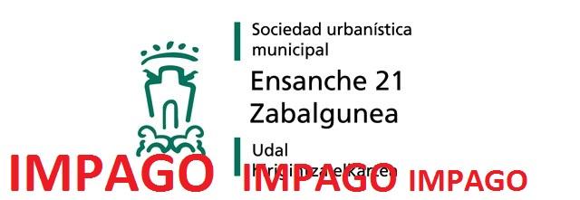 Comunidades de vecin@s del Casco Viejo se movilizan ante los impagos de Ensanche 21