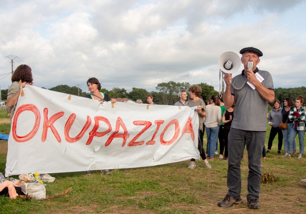 Solasaldia | Ipar Euskal Herriko borrokak, Arbonako okupazioa eta murgiltze eredua