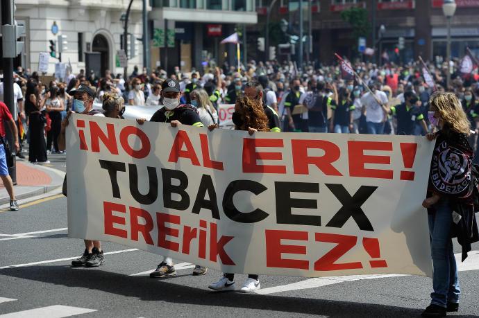 Entrevista | «La determinación de las trabajadoras de Tubacex sigue intacta»