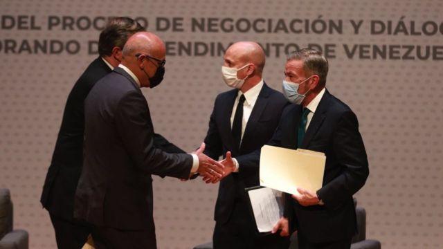 Venezuela   Gobernua eta oposizioaren arteko elkarrizketak Mexikon