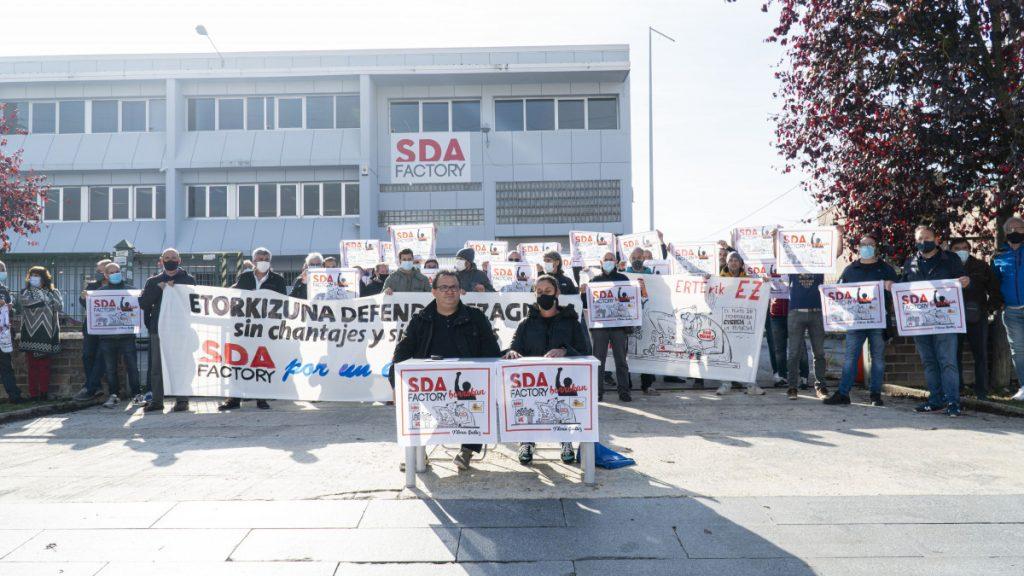SDA Factory recorta condiciones laborales y la plantilla redoblará movilizaciones