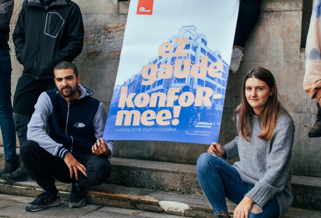 Ernaik hezkuntza eta burujabetzaren inguruko jardunaldiak antolatuko ditu Gasteizko campusean
