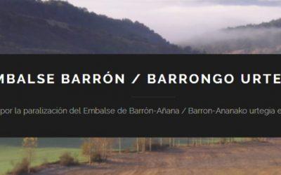 20190220 Atodogas Plataforma No al embalse de Barrón y Añana
